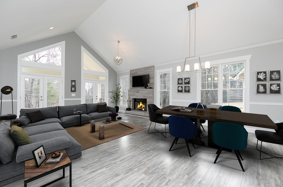 Sample 1 - Staged Great Room