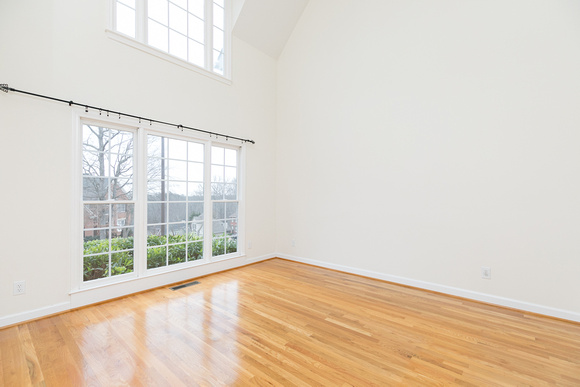 Sample 2 - Unstaged Living Room