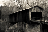Euharlees Covered Bridge, Creamtone